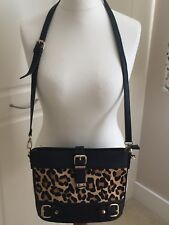 Dune Black/animal Print Handbag Excellent Condition only used once