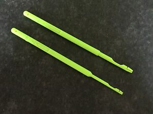 2 Exceed Disgorgers in Fluorescent Green, 1 Large size & 1 Small size  FREE POST
