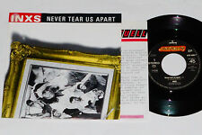 """INXS -Never Tear Us Apart- 7"""" 45 mit Product Facts Promo-Flyer"""