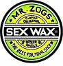 Circular Vinyl Sticker zogs sex wax surfing snowboarding laptop car iPad decal