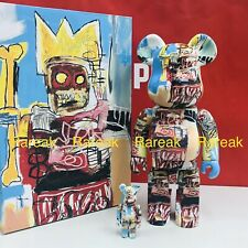 Medicom Be@rbrick 2020 Jean-Michel Basquiat #6 400% + 100% Robo bearbrick 2pc