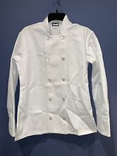 White Fame Chef Chef's Coat Jacket Uniform Waiter ~ See description for size ~
