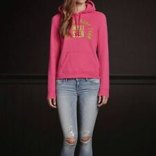 HOLLISTER Huntington Beach Hoodie Womens May We All Grow Together Size Large ~