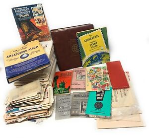 Huge Stamp Collection Day Issue Big Lot. Vintage from an Estate. Great Find