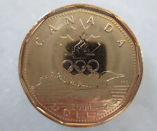 CANADA 2004 OLYMPIC LUCKY LOONIE UNCIRCULATED FROM MINT ROLL