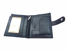 Original Leather Wallet Purse for Men Gents with Card Slots- Black