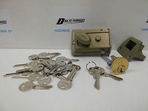 YALE DOOR LOCK with extra keys if required.No. 77 Nightlatch