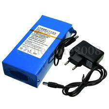 12V 15000mAh Super Rechargeable Li-ion Battery Pack AC Charger With EU Plug