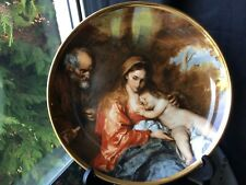 Vintage Lord Nelson Large Staffordshire Pottery Decorative Plate THE HOLY FAMILY