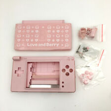 For Nintendo DS Lite NDSL Love And Berry Housing Shell Buttons+Screwdriver Pink