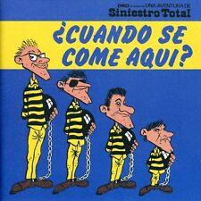 Siniestro Total - Cuando Se Come Aqui [New CD]