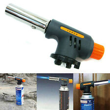 Gas Blow Torch Soldering Solder Iron Gun Butane Cordless Welding Burner Lighter