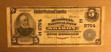 Sharon Pennsylvania, McDowell National bank ,1902 PB Fine