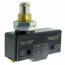 TM-1307 Panel Mount Plunger Actuator Momentary Micro Limit Switch
