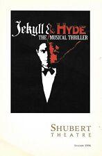 ROBERT CUCCIOLLI/LINDA EDER-JEKYYL & HYDE-1996 CHICAGO PRE-BWAY BIG VERSION PLAY