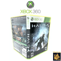 Halo 4 Xbox 360   (2012)  Video GameCase 2 Discs Tested Works