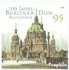 BRD (BR.Duitsland) 2446 selbstklebende Kwestieabe postfris 2005 Berlijn Dom