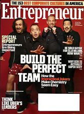 ENTREPRENEUR MAGAZINE MARCH 2017 BUILD THE PERFECT TEAM-SPECIAL REPORT