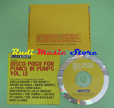 CD DISCO POGO PUNKS PUMPS VOL 12 compilation PROMO 2003 BOOKS CIRCLESQUARE (C29)