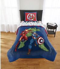 2 pc Marvel AVENGERS Twin/Full Comforter Reversible Bedding