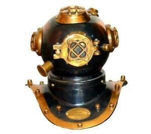 Diving Divers Helmet Vintage Helmet mini Brass & Steel Maritime Divers Replica