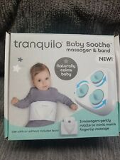 Tranquilo Baby Soothe Massager & Band. Nib