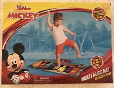 Disney Mickey Mouse Music Mat Interactive Floor Piano Electronic Toy Keyboard
