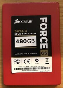 """CORSAIR Force Serie GS 480GB SATA 3 6Gb/s Solid-State Hard Drive 2.5"""" SSD"""