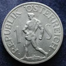 1946   Austria  1 Shilling   XF