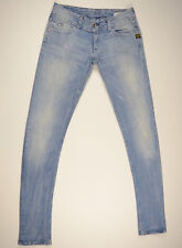 EUC LOOK NEW RRP $289 Womens G-Star Raw 'LYNN SKINNY WMN' Destroy Jeans W30 L34