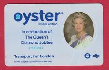 Limited edition 2012 Oyster card-Queen & Diamond Jubilee - COLLECTIBLE ITEM ONLY