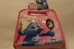 The Thermos Smurfs Vanity Smurf Pink Girls Lunch Box Bag Tote Insulated  NEW!!!