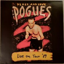 The Pogues - Peace and Love Tour '89 (Rare Green Vinyl, Live in Lausanne,...