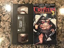 Critters 3 Vhs! 1991 Horror! Also See The Hidden II & Android
