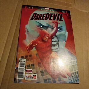 DAREDEVIL #610 MARVEL COMICS-1ST FULL APP. OF VIGIL (2018) 1ST PRINT-KEY !!!!!!!