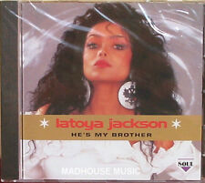 LA TOYA JACKSON CD He's My Brother Album MICHAEL sealed