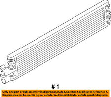 FORD OEM-Automatic Transaxle Oil Cooler EJ7Z7A095B
