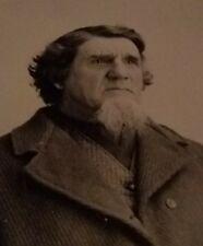 TINTYPE Working man w/tinted cheeks ca 1880's