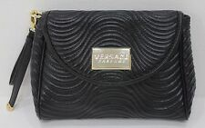 VERSACE PARFUMS BLACK LADIES CLUTCH / HANDBAG / EVENING BAG