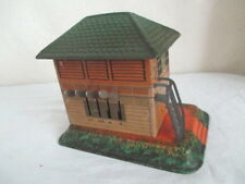 Old Tin German BING SWITCH BUILDING STATION *Vintage Germany Train Toy