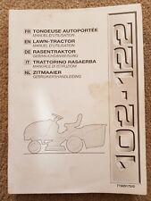 GGP 102-122 Ride-On Tosaerba Manuale Operatori