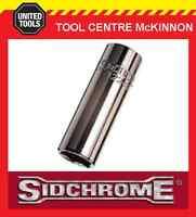 """SIDCHROME SCMT12240 1/4"""" DRIVE 6pt 9mm TORQUEPLUS DEEP SOCKET"""