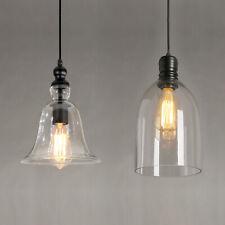 Modern Industrial Glass Shade Loft Cafe Pendant Light Ceiling Fixture Lamp Shade