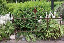 Beetzaun Gartenzaun Rankhilfe Herz Eisen Rost Deko H:55 cm x L:80cm