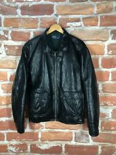 Polo Ralph Lauren L Leather Lined RRL Military/Bomber Motorcycle/Biker Jacket