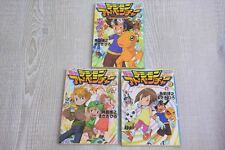 DIGIMON ADVENTURE Novel Complete Set 1-3 Japan Book SH