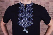 Ukrainian vyshyvanka, Embroidered Men's T-Shirt, vyshyvanka from Ukraine, Size S