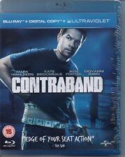 CONTRABAND - Mark Wahlberg, Kate Beckinsale - Blu-Ray *NEW & SEALED*