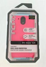 Incipio DualPro Case for HTC Desire 526 Pink/Aqua New Open Box
