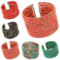 des bijoux bracelet de multicouches l'acrylique perles un bracelet bohème